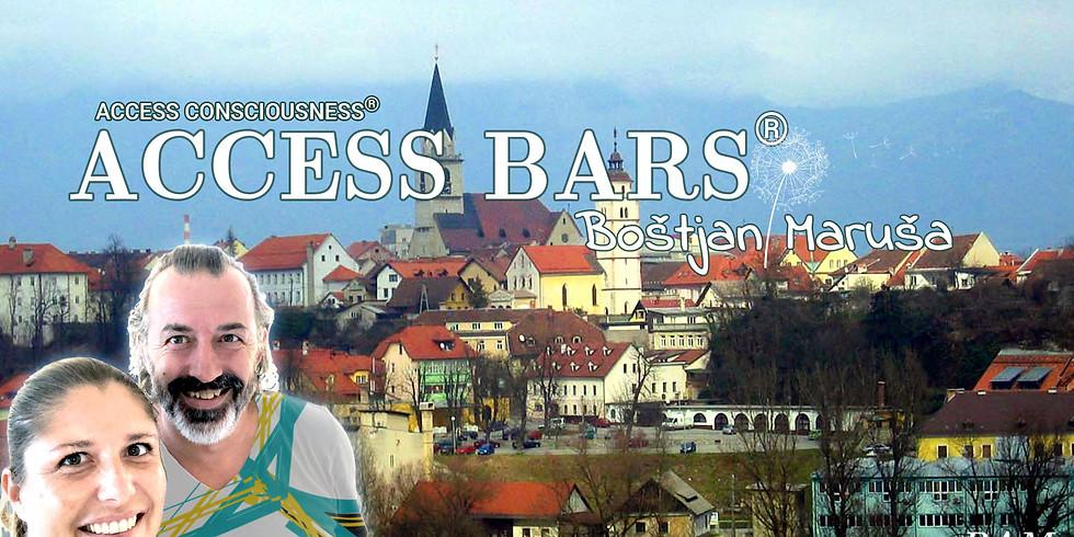 Kranj: Certificiran tečaj Access Bars® z Boštjanom in Marušo
