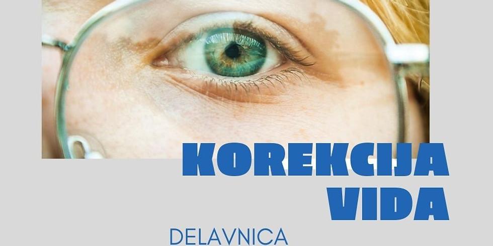 Ljubljana: Delavnica Korekcija vida z Marušo
