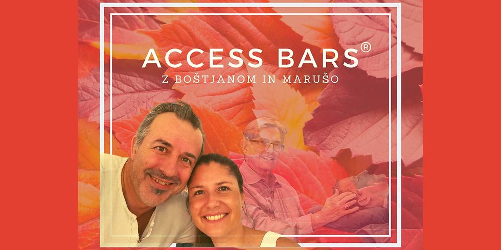 Maribor: Certificiran tečaj Access Bars® z Boštjanom in Marušo
