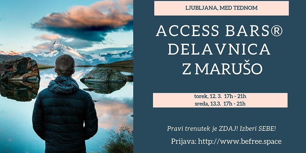 Ljubljana: Delavnica Access Bars® z Marušo, 2.del (4 ure)