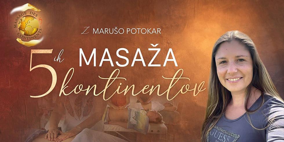 Grosuplje: 2 dnevni tečaj Masaža 5-ih Kontinentov z Marušo Potokar