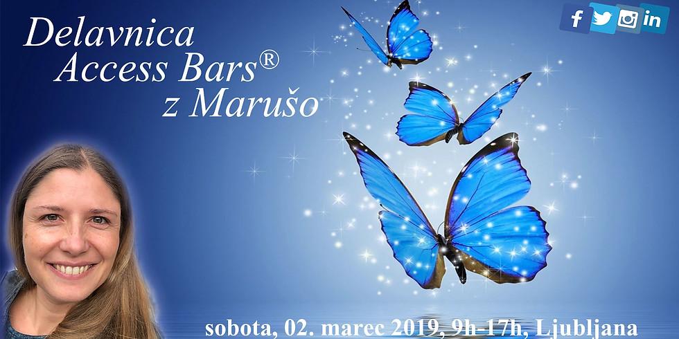 Ljubljana: Delavnica Access Bars® z Marušo