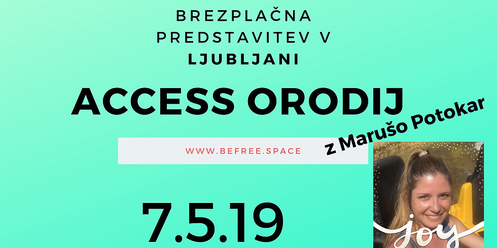 Ljubljana: Brezplačna predstavitev Access Bars® z Marušo