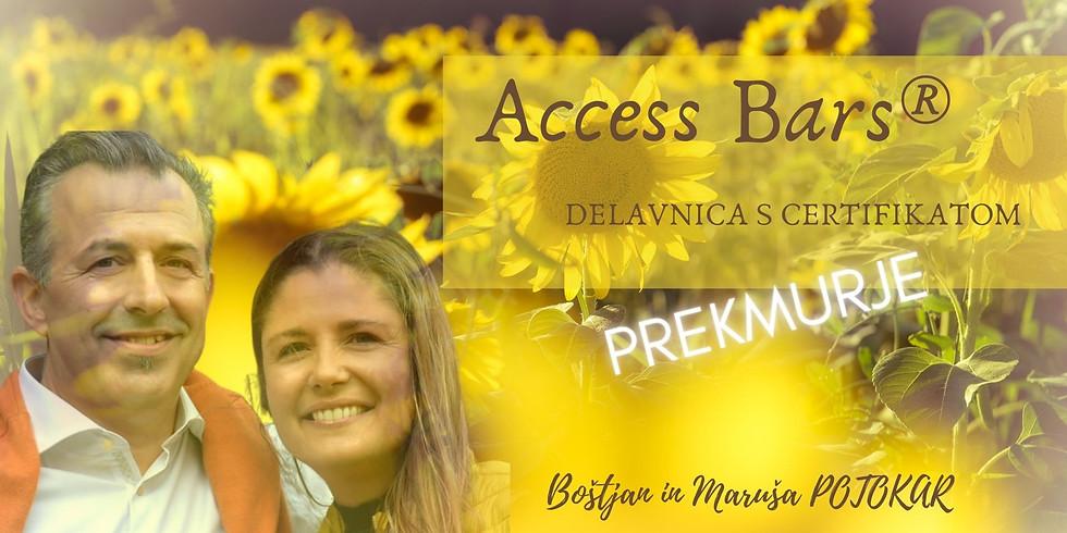 Prekmurje: Certificiran tečaj Access Bars®  z Boštjanom in Marušo