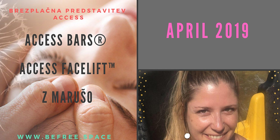 Novo mesto: Brezplačna predstavitev Access Bars® in Access Facelift™  z Marušo