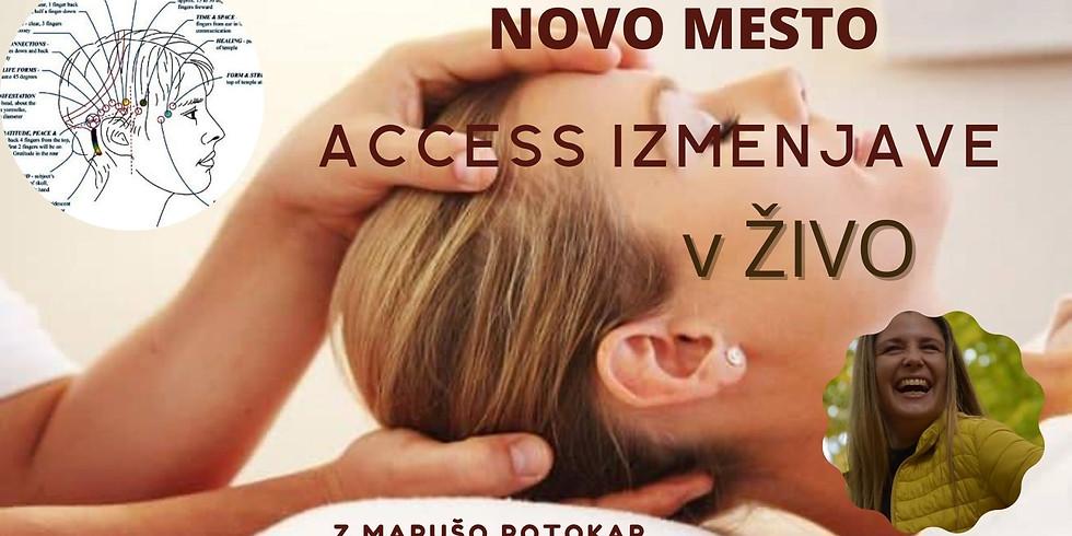 Novo mesto: Access izmenjave