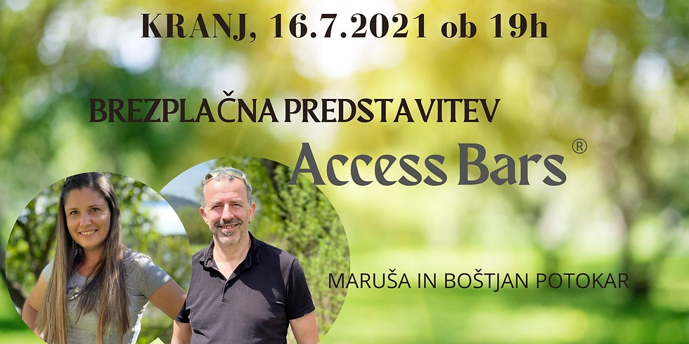 Kranj: Brezplačna predstavitev Access consciousness in Access Bars®
