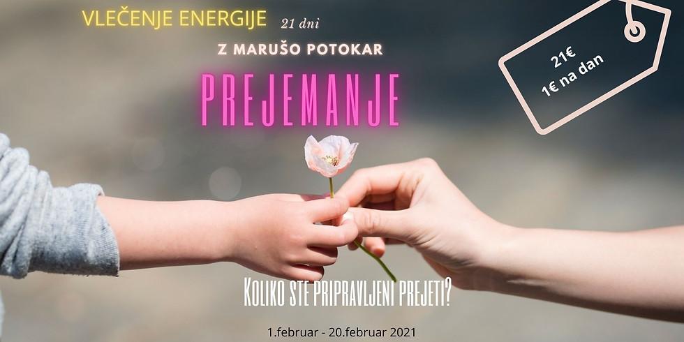 Online: 21 dnI VLEČENJA ENERGIJE z Marušo za več prejemanja v vašem življenju (1)