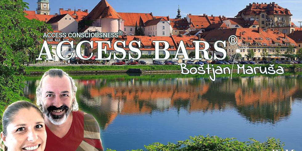 Maribor: Brezplačna predstavitev Access  orodij - Access Bars® z Boštjanom in Marušo