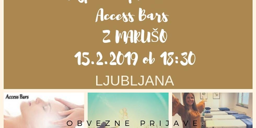 Brezplačna delavnica - predstavitev Access Bars