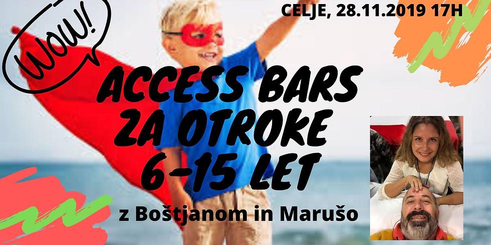 Celje: Certificiran tečaj Access Bars za otroke®