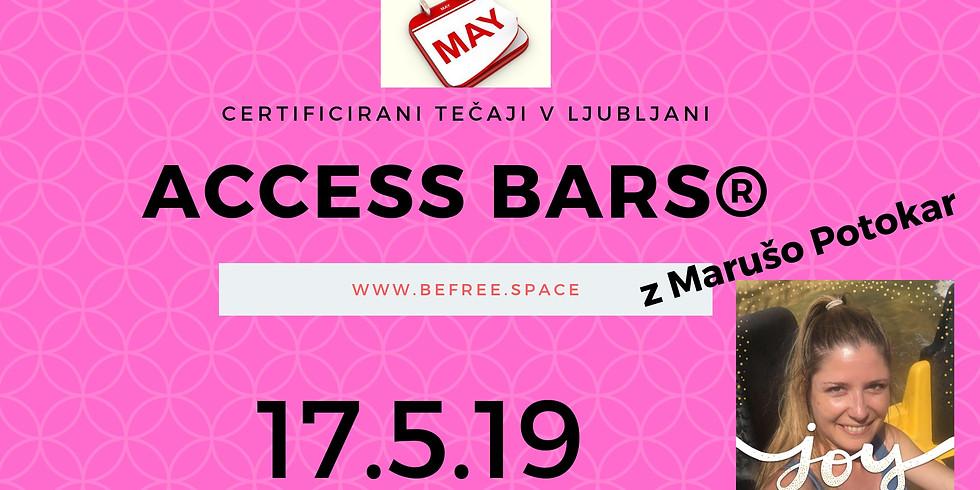 Ljubljana: Certificiran tečaj Access Bars® z Marušo