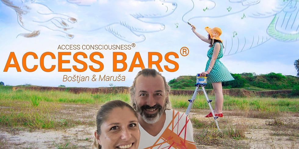 Ljubljana: Certificiran tečaj Access Bars® z Marušo  in Boštjanom