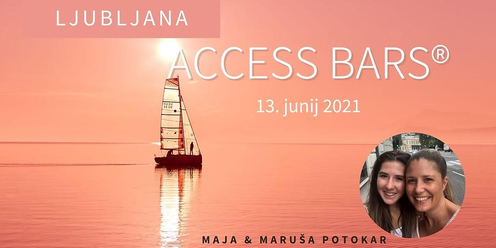 Ljubljana: Certificiran tečaj Access Bars®  z Marušo & Majo