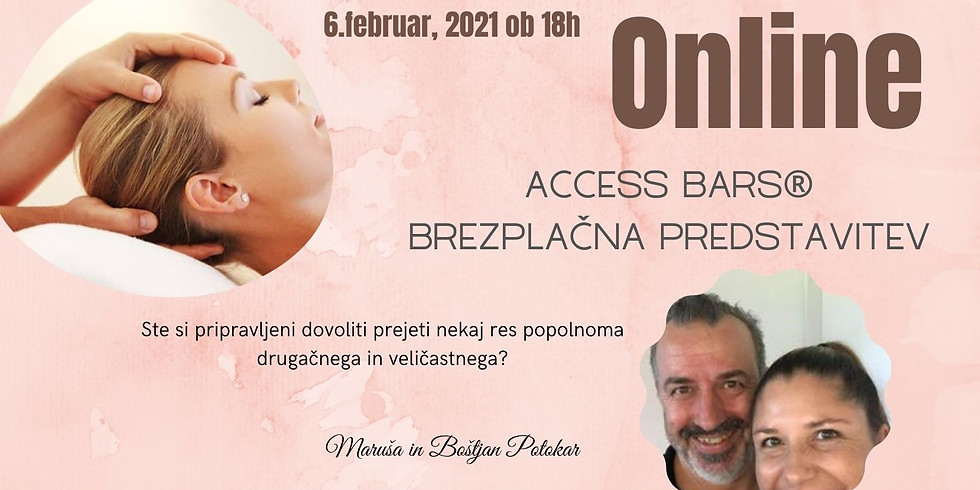 Online: Brezplačna predstavitev Access Consciousness in Access Bars®