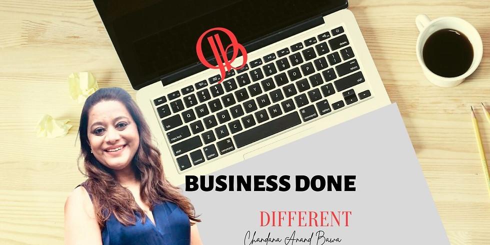 Online seminar: Poslovanje na drugačen način z Chandana Anand Bawa