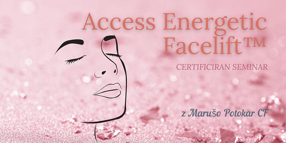 Novo mesto: Certificirana delavnica Access Energijski FaceLift™
