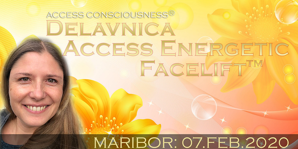 Maribor: Tečaj Access Energetic Facelift™ z Marušo