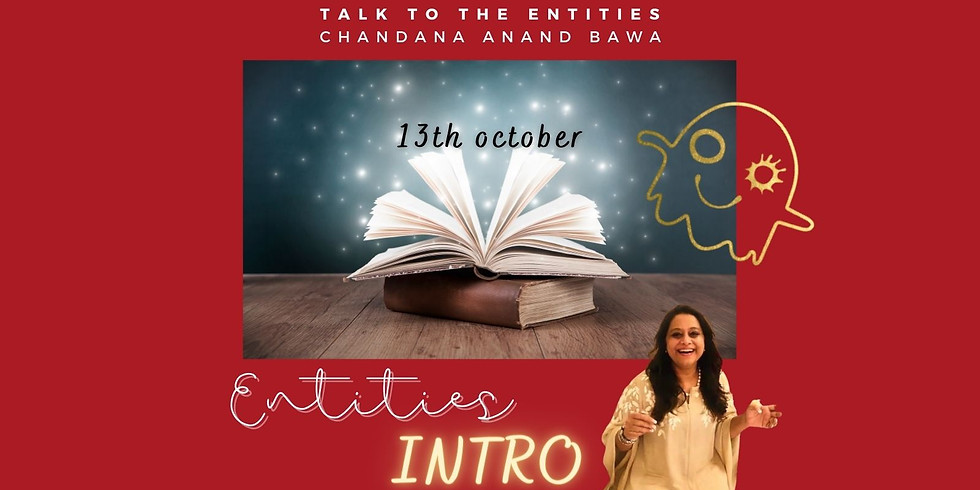 Online zoom: INTRO Pogovarjajte se z entitetami in Chandana Bawa