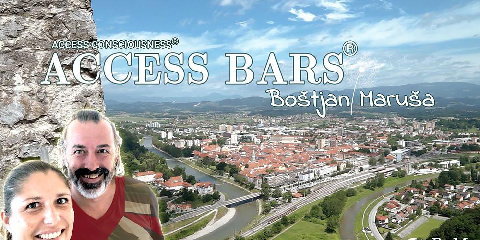 Celje: Brezplačna predstavitev Access  orodij - Access Bars® z Boštjanom in Marušo