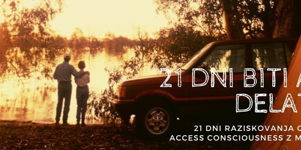 Online FB live: 21 dni izziva BITI ali DELATI z Marušo