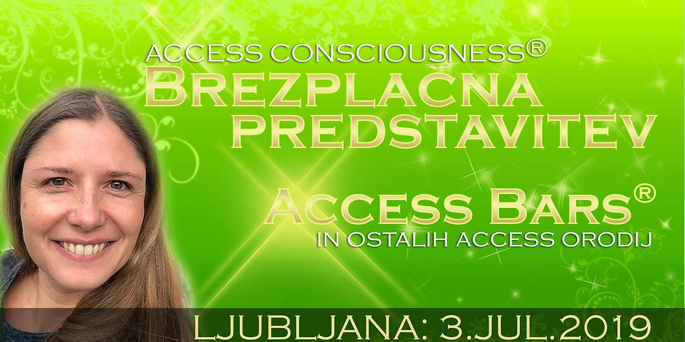 Ljubljana: Brezplačna predstavitev Access  orodij - Access Bars®, Access Facelift™, ...