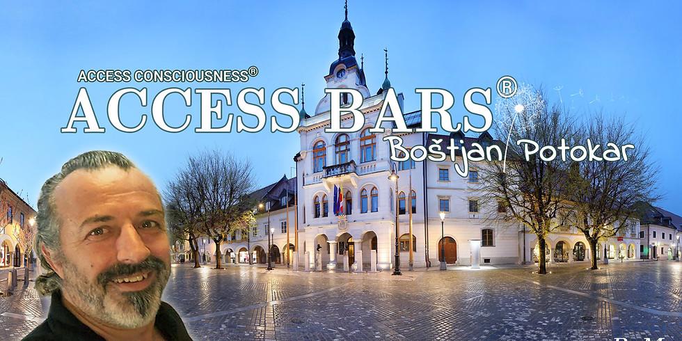 Novo mesto: Certificiran tečaj Access Bars® z Boštjanom