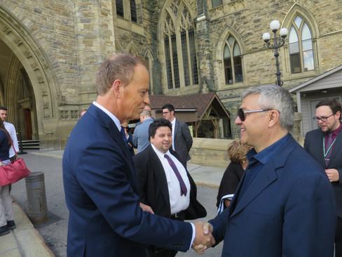Tony Zara with MP Diorio