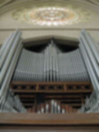 Grand Organ in the South Transept