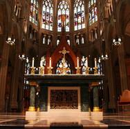 High Altar, Rear Sanctuary