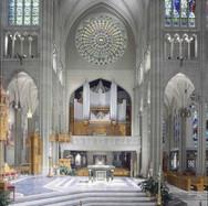 High Altar, Aultz-Kersting Organ (1982), Rose Window
