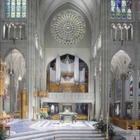 High Altar, Aultz-Kersting Organ (1982), Rose Window
