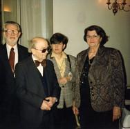 Robert Schaffer, Jean Langlais, unknown, Rita Schaffer