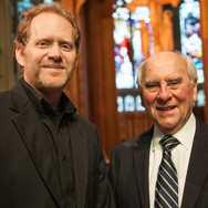 Helmut Roehrig (Right) with L. Brett Scott