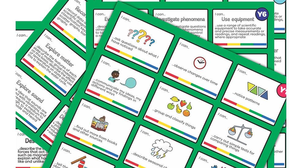 Science Key Skills Cards