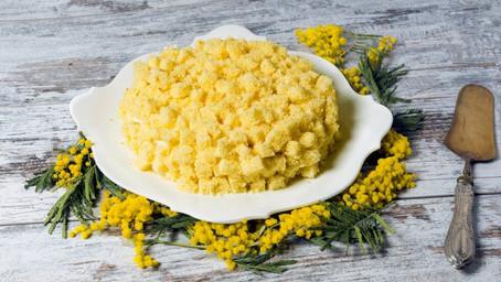 Torta Mimosa for Festa della Donna