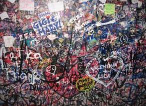 Graffiti is the Language of Love in Verona
