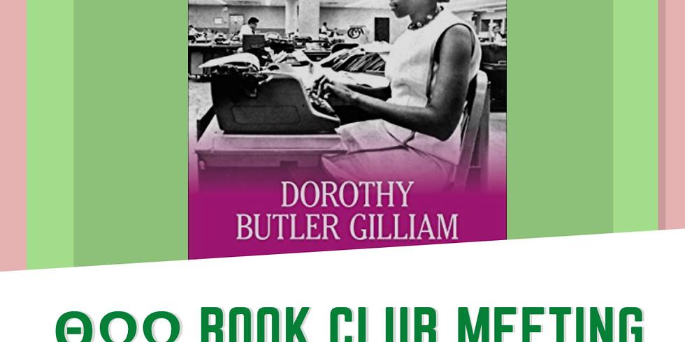 "Theta Omega Omega Chapter's  Book Club  Event: ""Trailblazer"""
