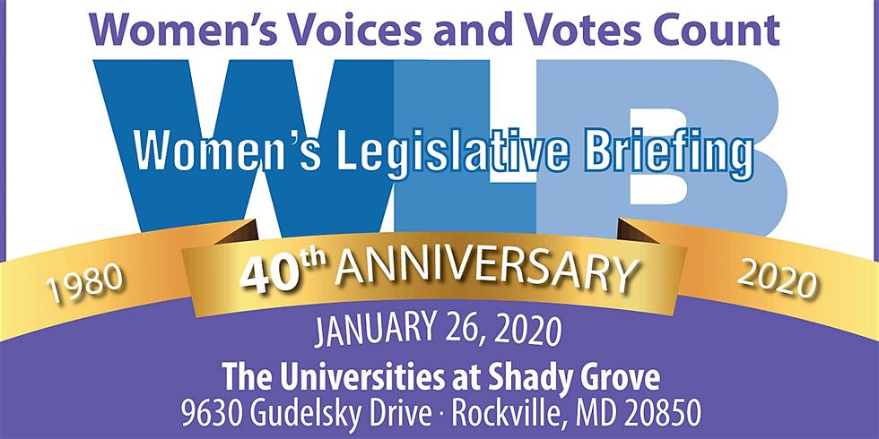 2020 Women's Legislative Briefing