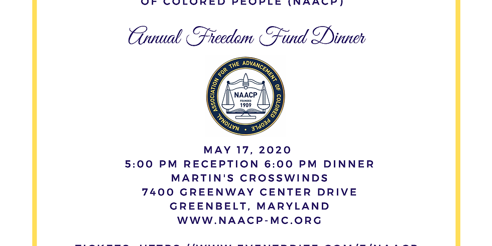 NAACP Annual Freedom Fund Dinner