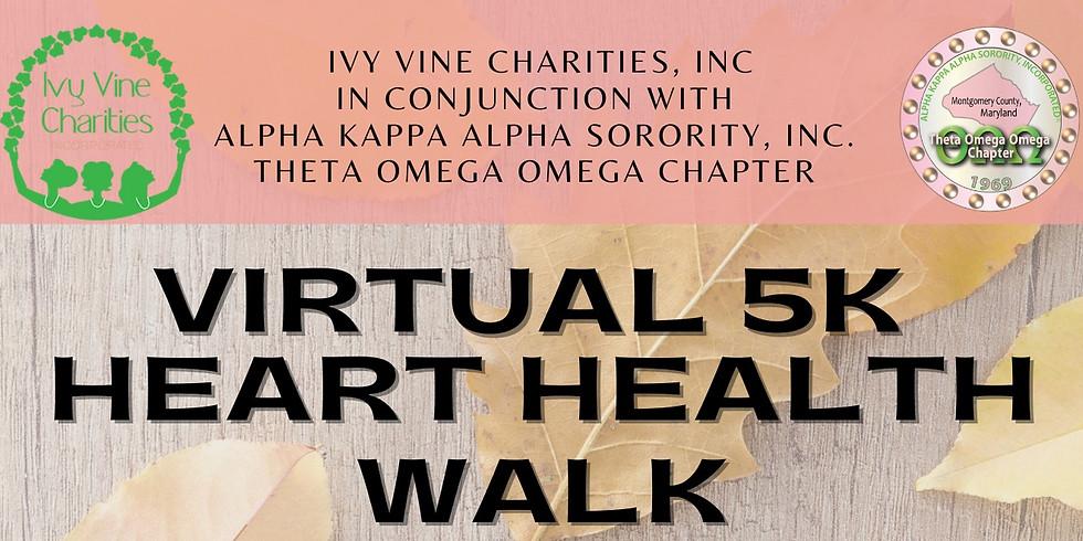 Ivy Vine Charities, Inc. 2020 5K Heart Health Walk