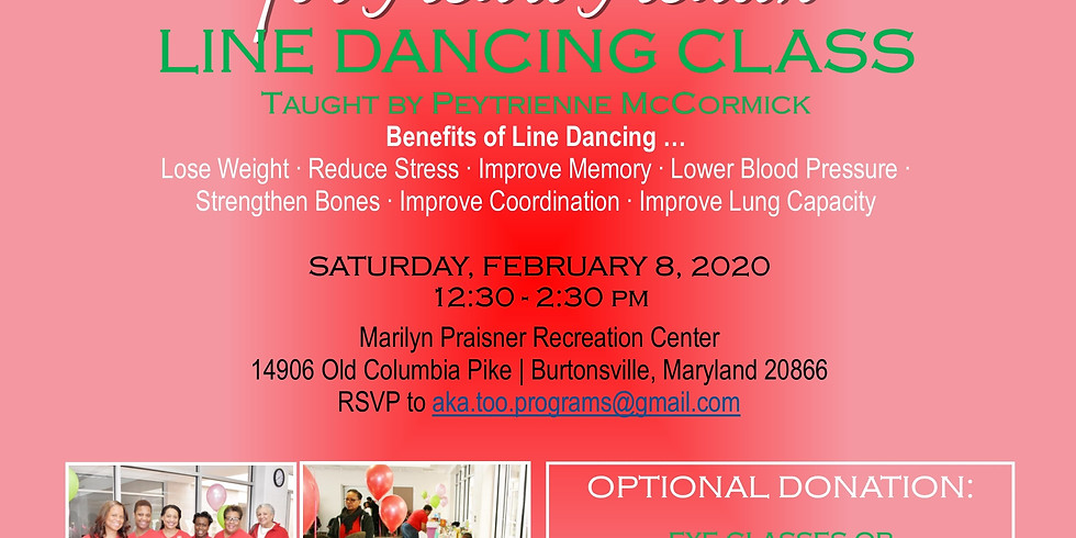 Pink Goes Red for Heart Health - Line Dancing Class
