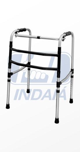 Andador aluminio articulado