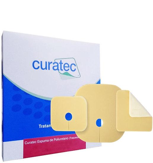 Curativo Espuma de Poliuretano para Traqueostomia
