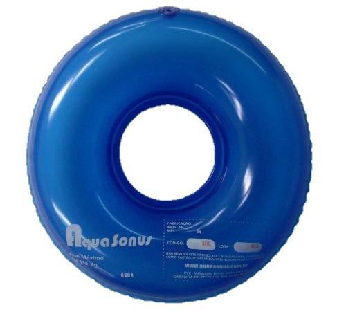 Almofada inflável redonda com orifício