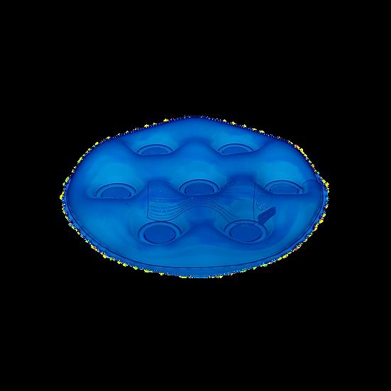 lmofada inflável redonda sem orifício caixa de ovo