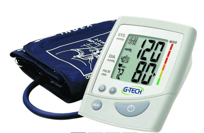 Aparelho de pressão digital automático de braço LA250