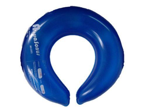 Almofada inflável sanitário
