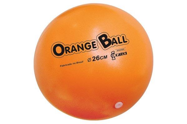 Bola para exercicio Orange Ball CARCI