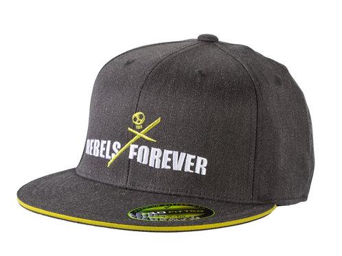 REBELS FLAT CAP